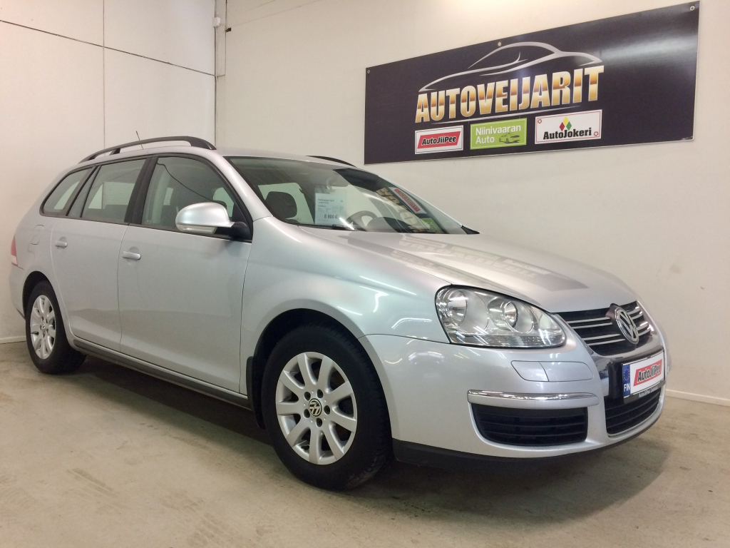 Volkswagen Golf Farmari 1.6 MULTIFUEL 2008