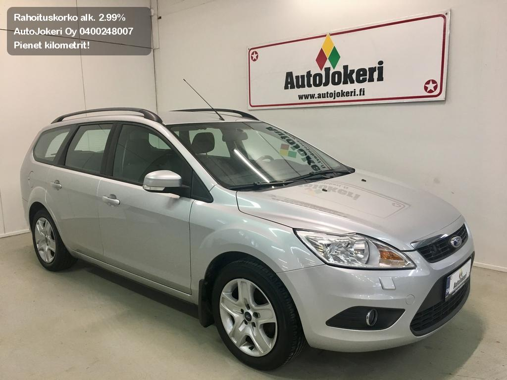 Ford Focus Farmari 1.8 125 hv FlexiFuel Titanium M5 Wagon 2010