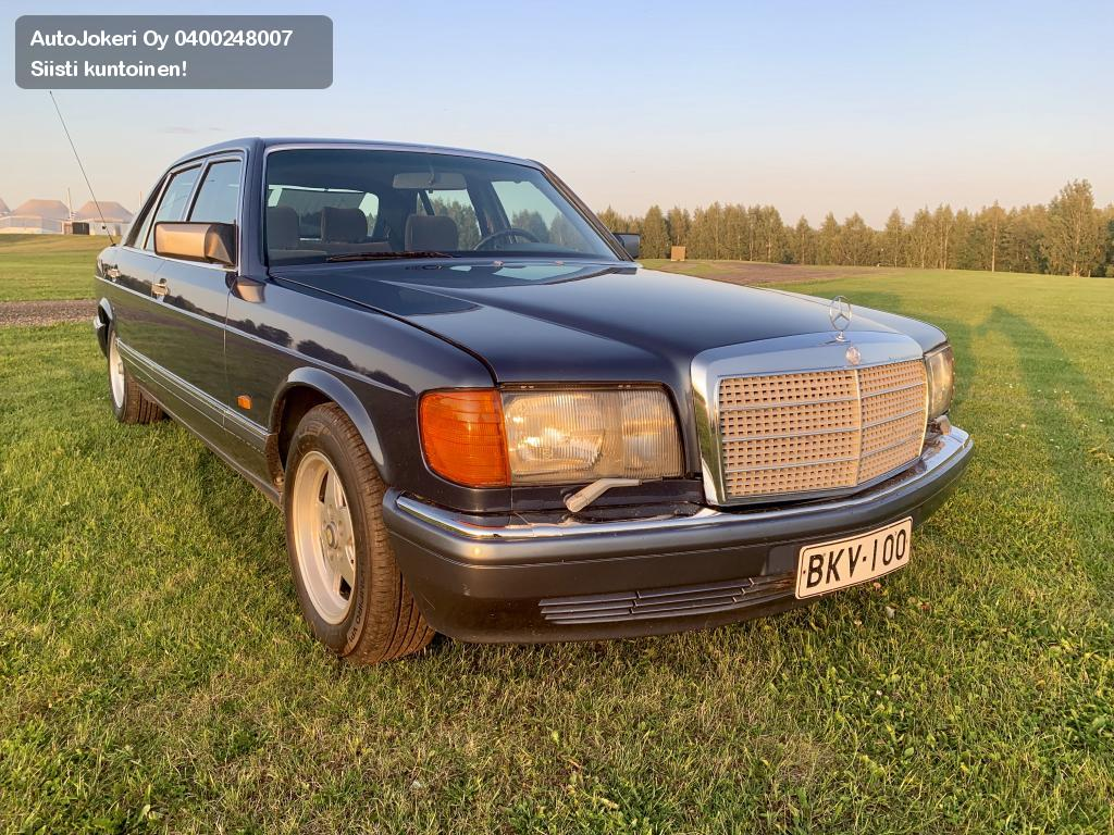 Mercedes-Benz SEL Sedan 300SEL A. SUOMI-AUTO!  1989