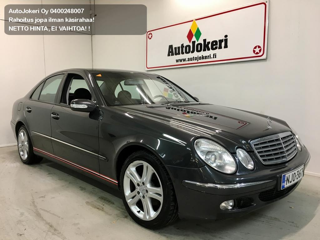 Mercedes-Benz E Sedan 200 CDI Elegance 4d A 2005