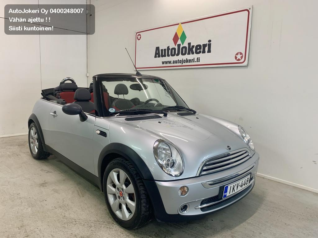 Mini ONE Avoauto 1.6 Cabrio 2d. 2004