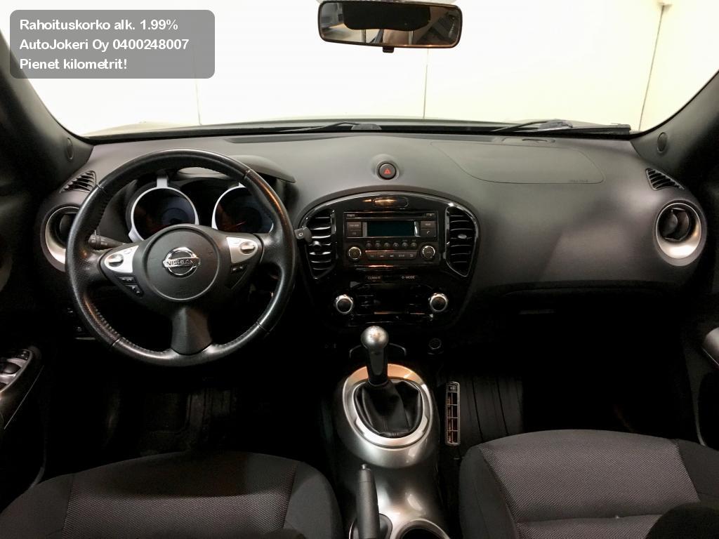 Nissan Juke Viistoperä 1,6L Pure Drive Acenta 2WD 2012