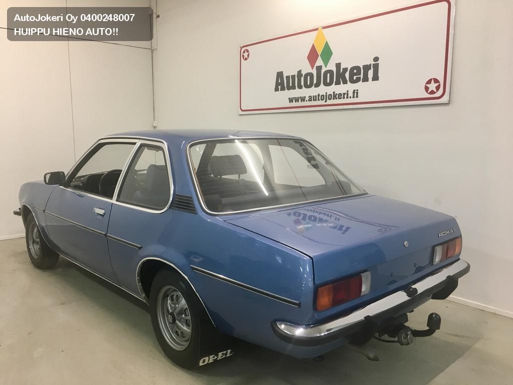 Opel Ascona Sedan 1.9S Huippu hieno B-Ascona! 1979