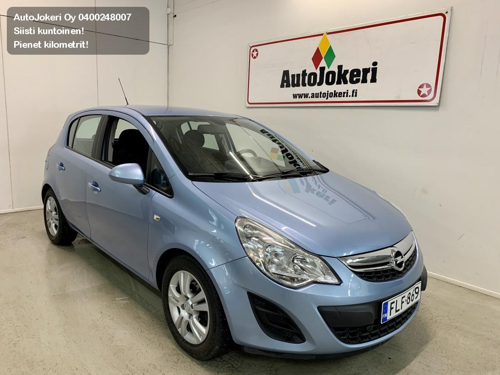 Opel Corsa Viistoperä 1,2 Enjoy ecoFLEX S/S 5d. 2013
