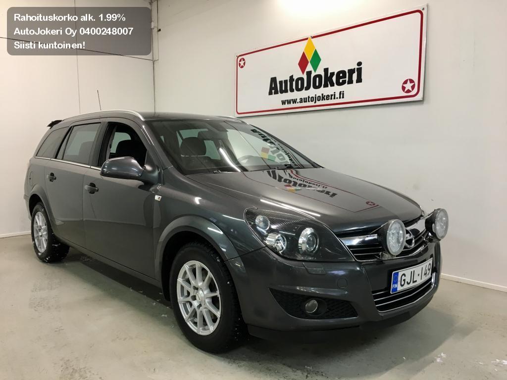 Opel Astra Farmari Wagon Ultimate 1,6 Ecotec 85kW MT5 2011