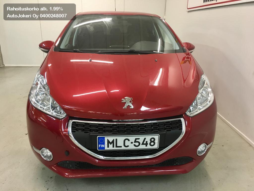 Peugeot 208 Viistoperä 1.2 Active VTi82 5-ov 2013