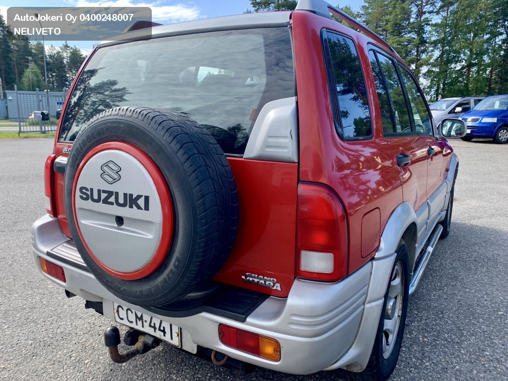 Suzuki Grand Vitara Maastoauto 2.0 Grand 5d 4wd  1999