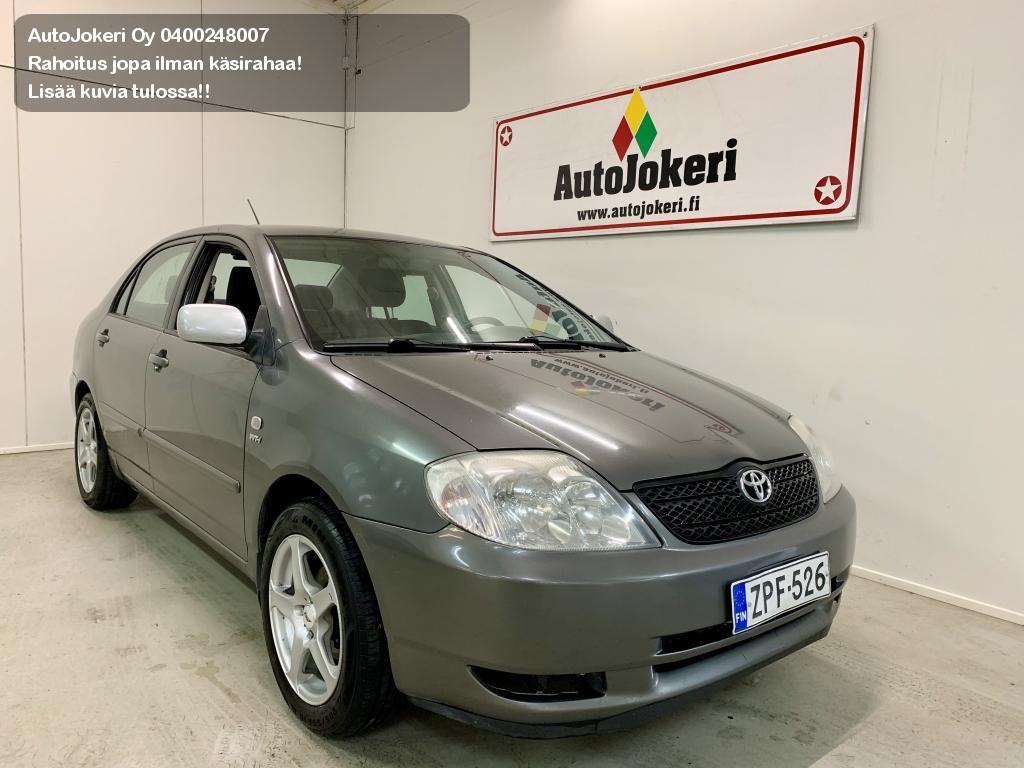 Toyota Corolla Sedan 1.6 VVT-I SEDAN 2003
