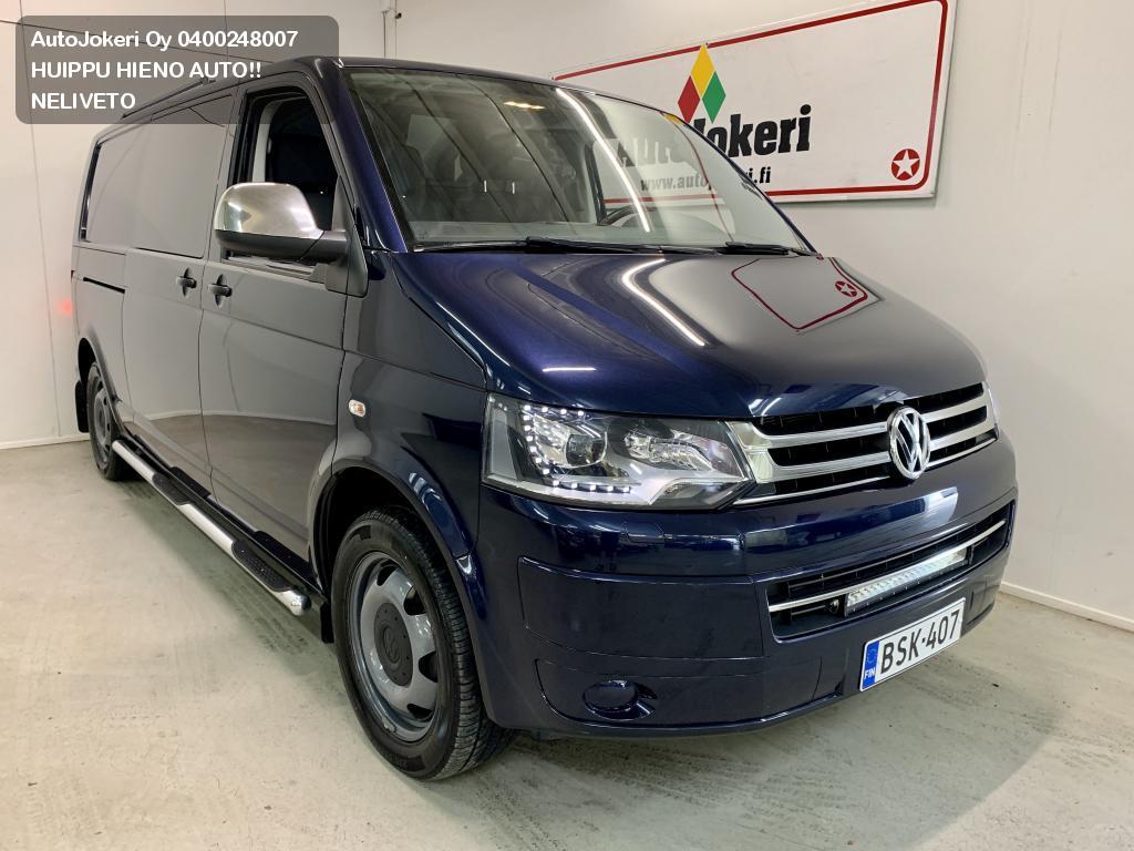Volkswagen TRANSPORTER Pitkä - matala 2.0 TDI 132kW DSG 4MOTION Classic BlueMotion Tecnhology 2015