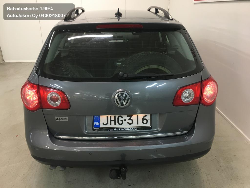 Volkswagen Passat Farmari Variant 2.0 TDI PwD 103 Sportline 5d 2008