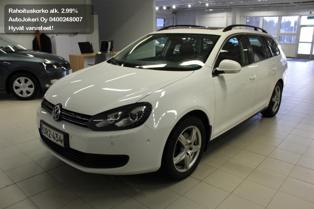 Volkswagen Golf Farmari Variant Comfortline 1,4 TSI 90kw 2012