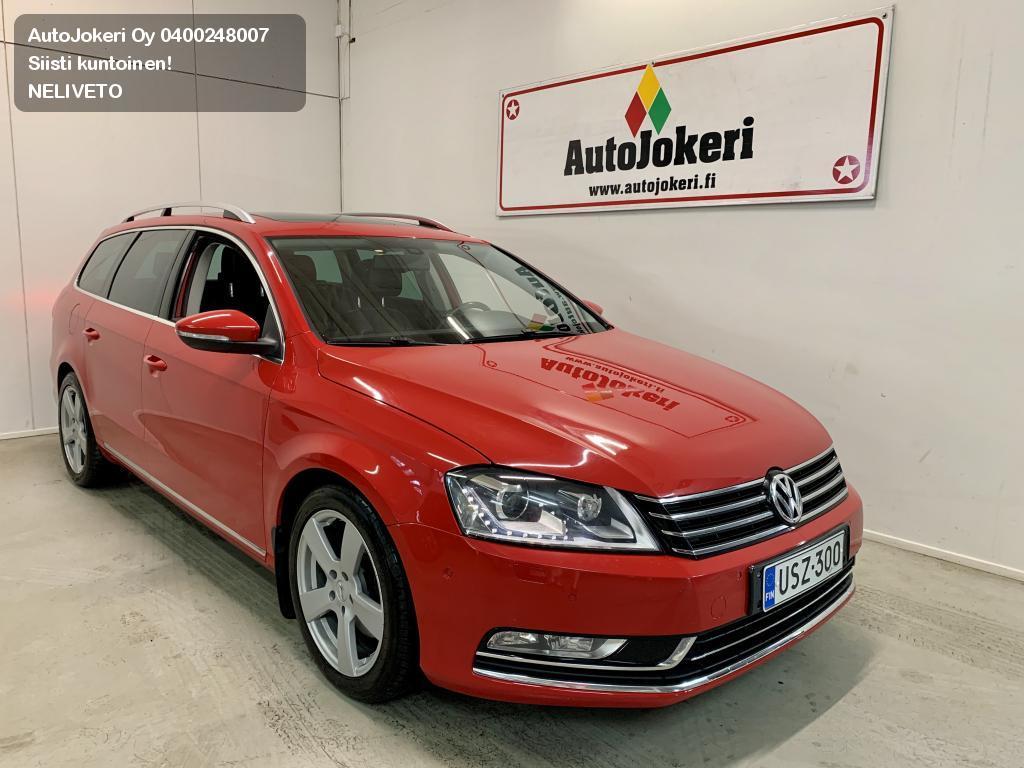 Volkswagen Passat Farmari Variant Highline 2,0 TDI 125 kW (170 hv) BlueMotion Technology 4MOTION DSG 2012