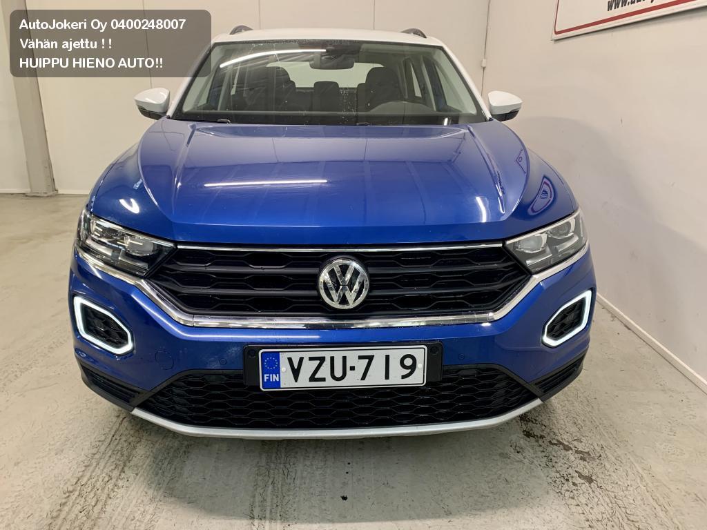 Volkswagen T-ROC Maastoauto Style 1,5 TSI EVO 110 kW 2018