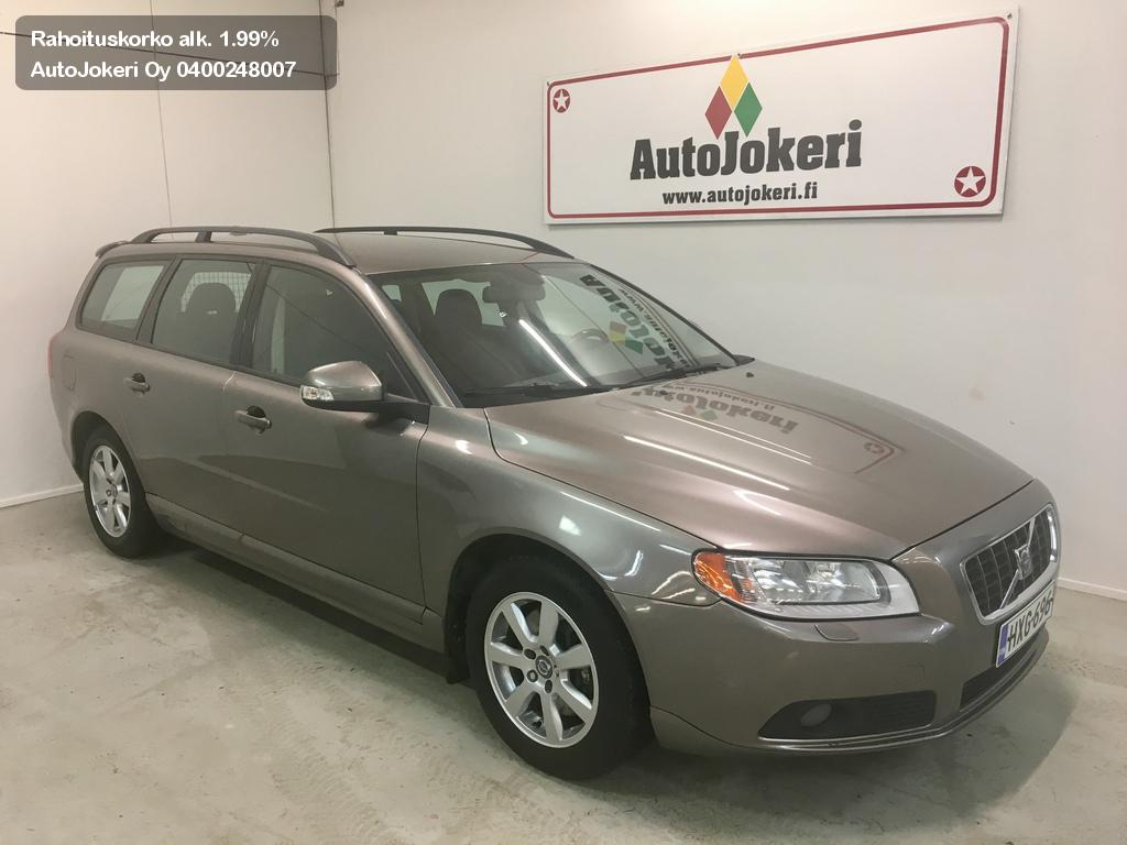 Volvo V70 Farmari 2.4D Kinetic Geartronic  2008