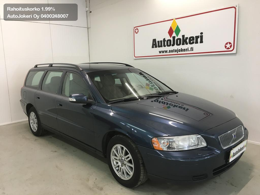 Volvo V70 Farmari 2.4D Kinetic 163hk 2007