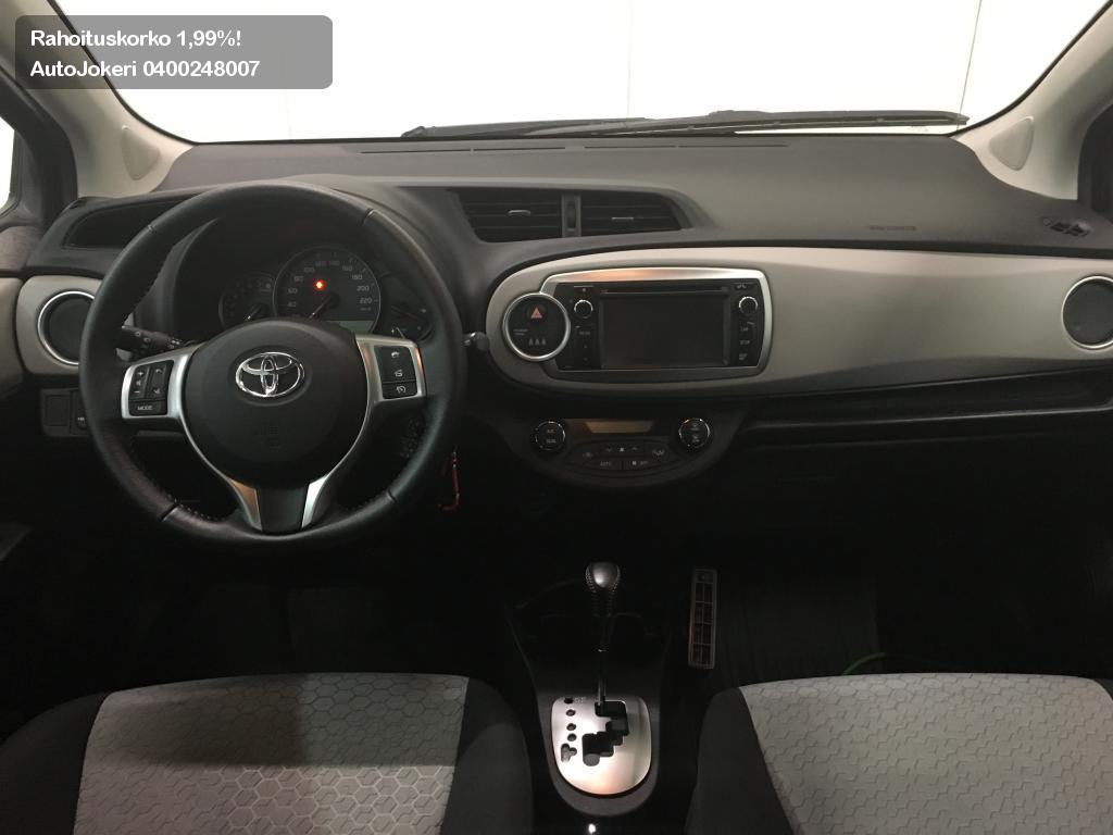 Toyota Toyota Yaris Viistoperä 1,33 Dual VVT-i Active 5ov A 2014