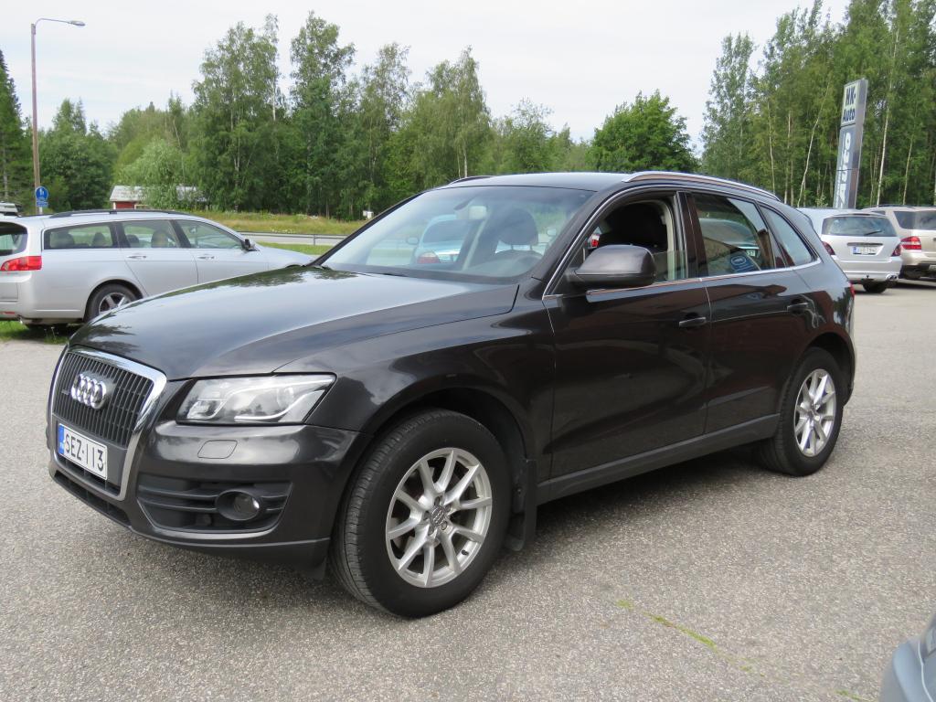 Audi Q5 2,0 TDI A (DPF)170HV quattro S tronic Business SPORTTIPENKIT, KÄÄNTYVÄ KOUKKU, SUOMIAUTO, TÄYSI HUOLTOKIRJA