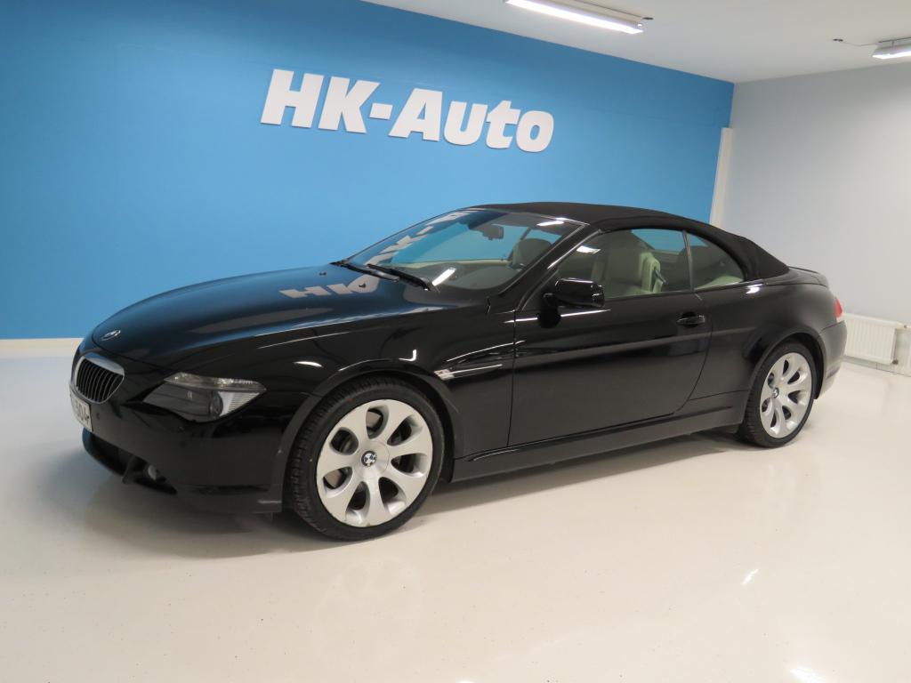 BMW 645  645CI CABRIO 4.4 AUTOMATIC Suomiauto