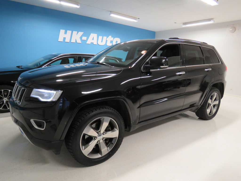 Jeep Grand Cherokee 3,0 CRD 250hv AT8 Overland