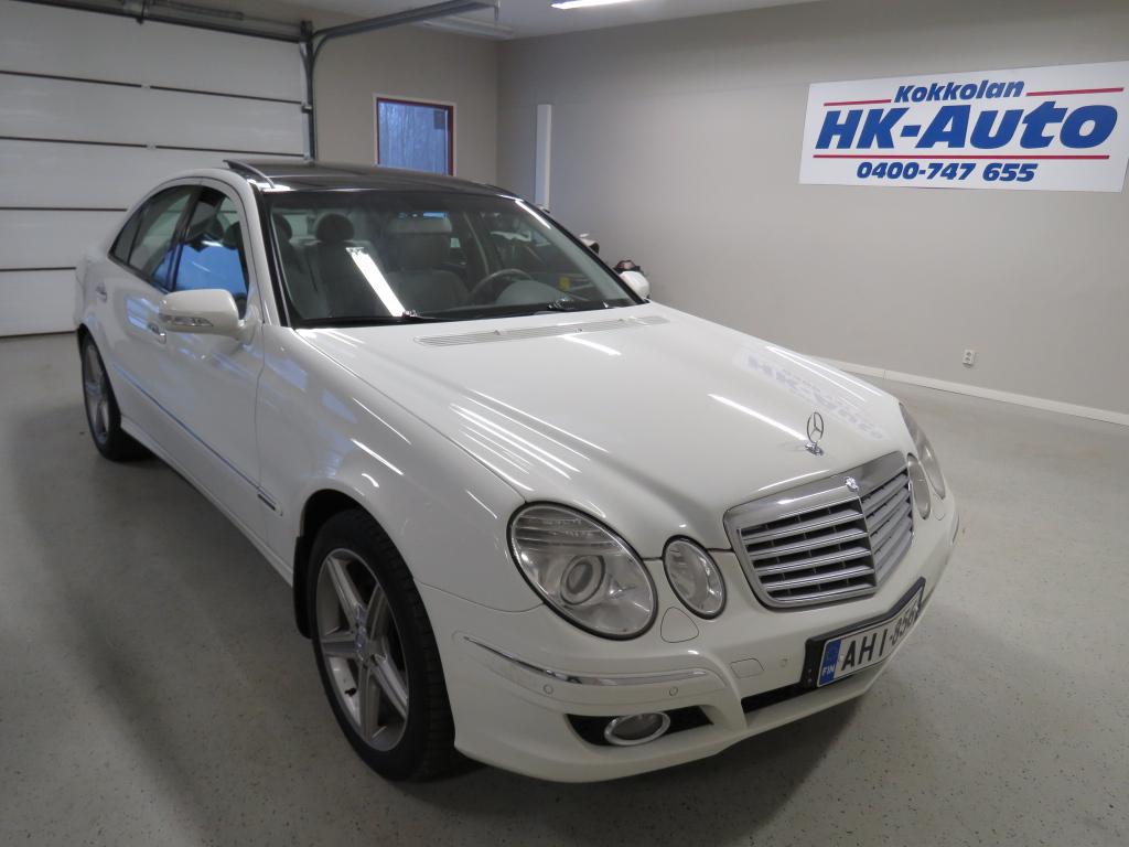 Mercedes-Benz E 200 CDI Elegance 4d A suomiauto lasikatto kauko-webasto tutkat V-keula