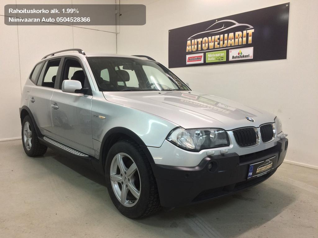 BMW X3 Maastoauto 3.0iA 4x4 2004