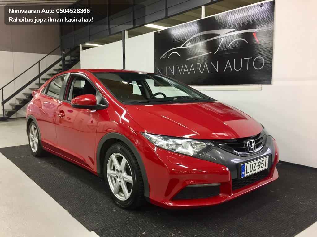 Honda Civic 5DR Viistoperä Diesel 1.6 Comfort Merkkihuollettu! 2013