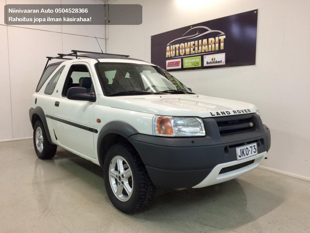 Land Rover FREELANDER Maastoauto 1.8 4X4 Avoauto 2000