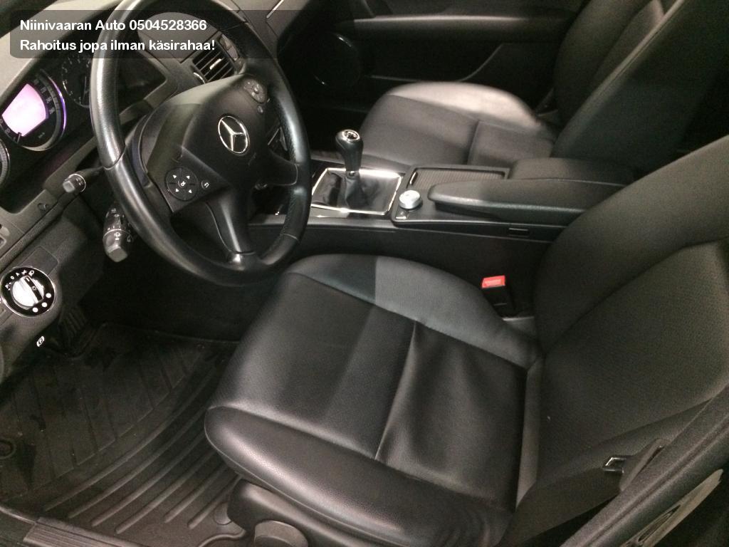 Mercedes-Benz C Farmari 180T Kompressor Classic Hyvitys vaihtoautosta vähintään 1000€. 2009