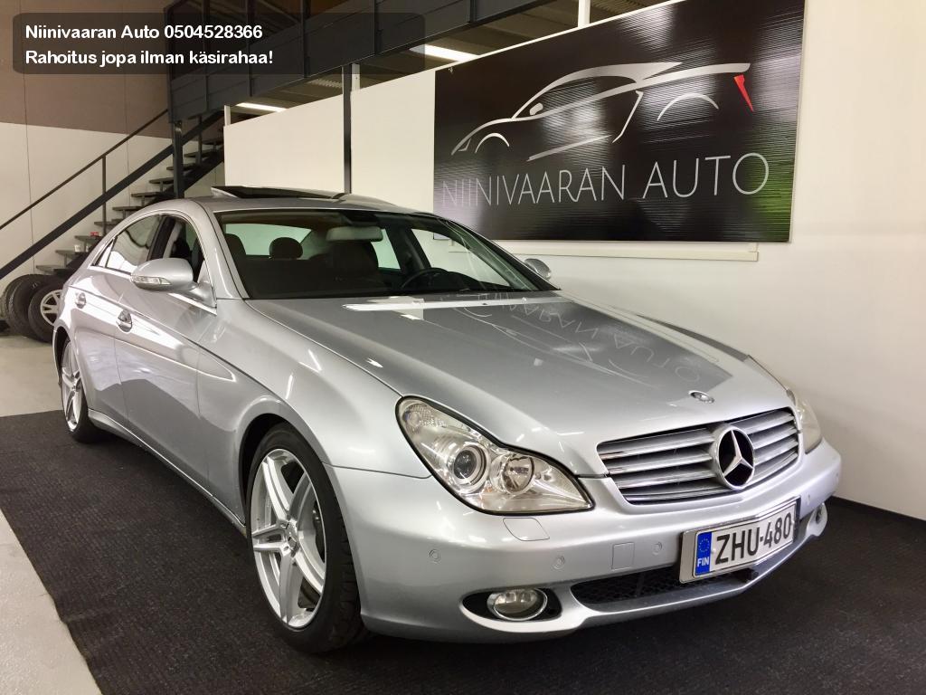 Mercedes-Benz CLS 320 CDI Coupe V6 4d A Loistoyksilö! Kaukoeberi/Bi-Xenon/musta nahkaverhoilu. Kaskovapaa rahoitus alk. 69€/kk. 2006