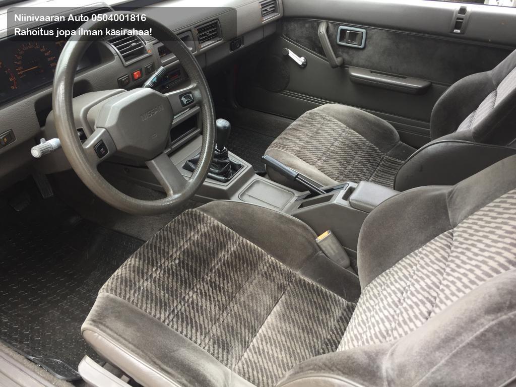 Nissan Silvia Viistoperä 2.0 DOHC Coupe FJ20E 1987