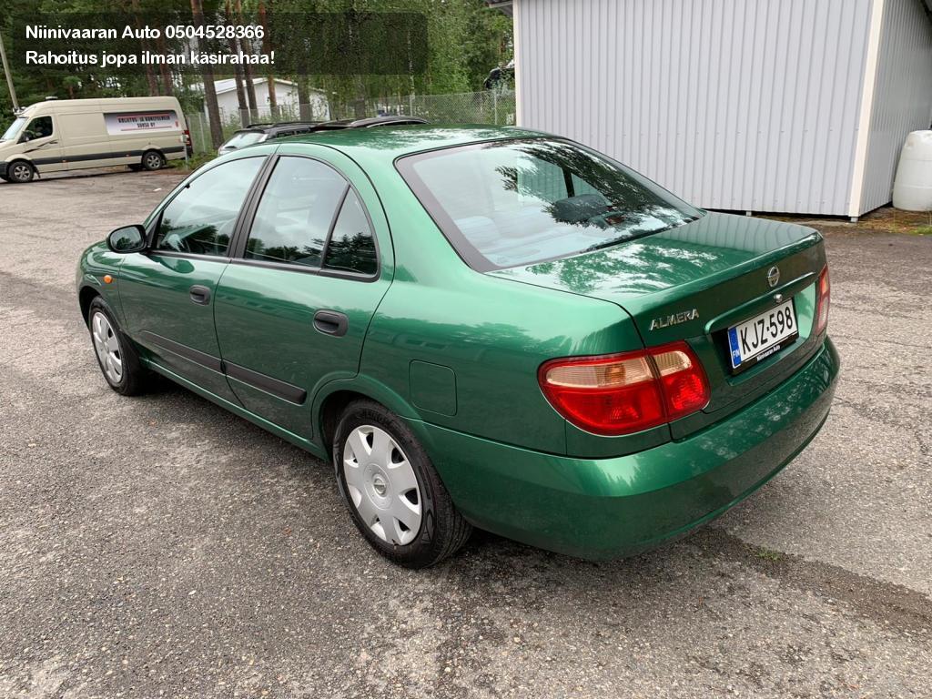 Nissan Almera Sedan 1.5 4d 2005