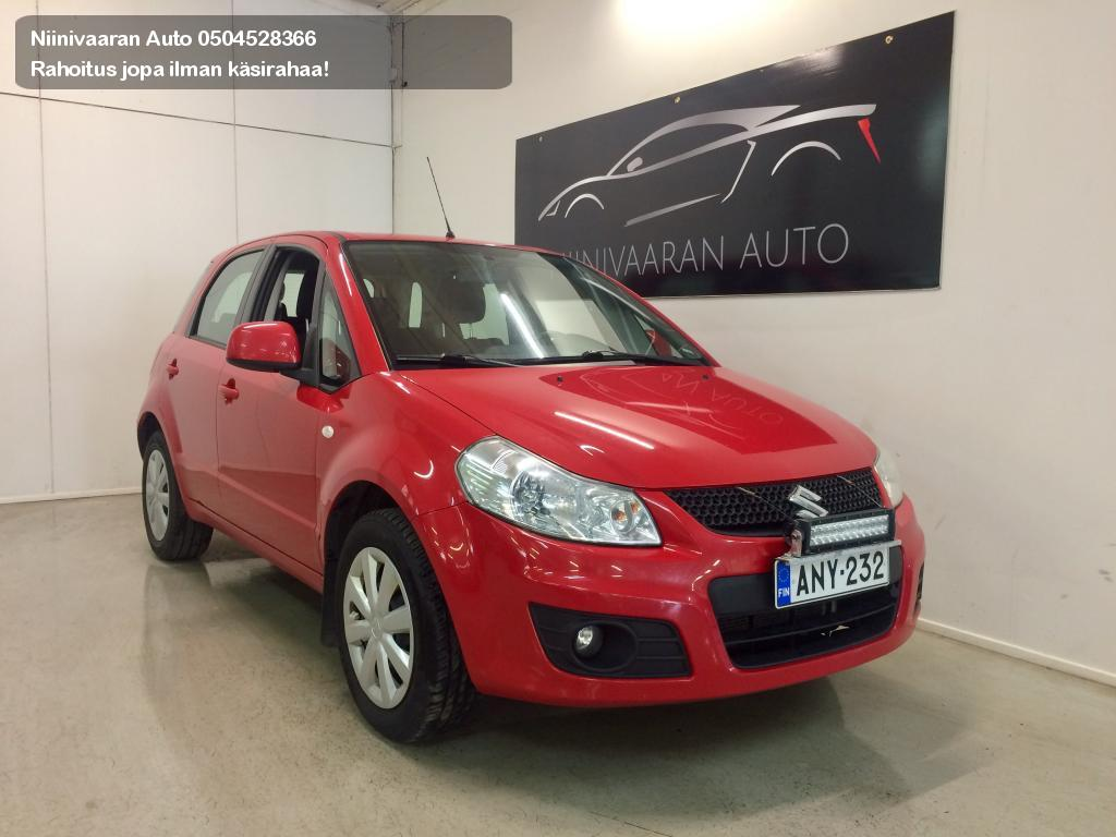 Suzuki SX4 Viistoperä 1.5 VVT CITY 5D 5MT Business 2011
