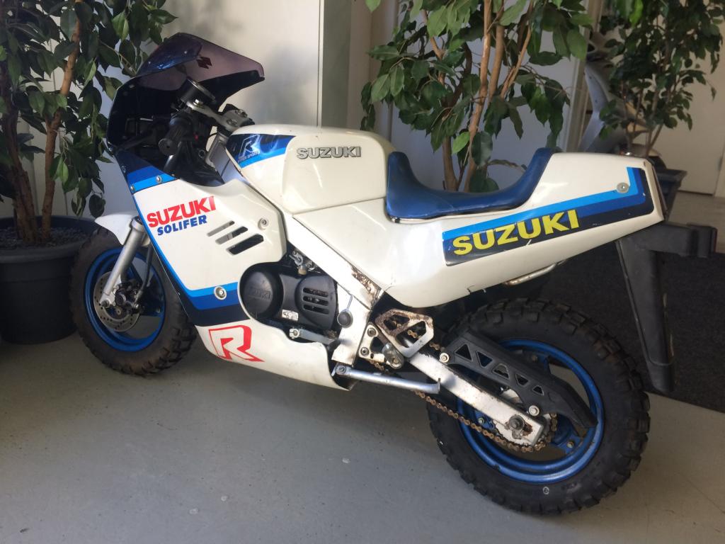 Suzuki R Ei tieliikennekelpoinen  1987