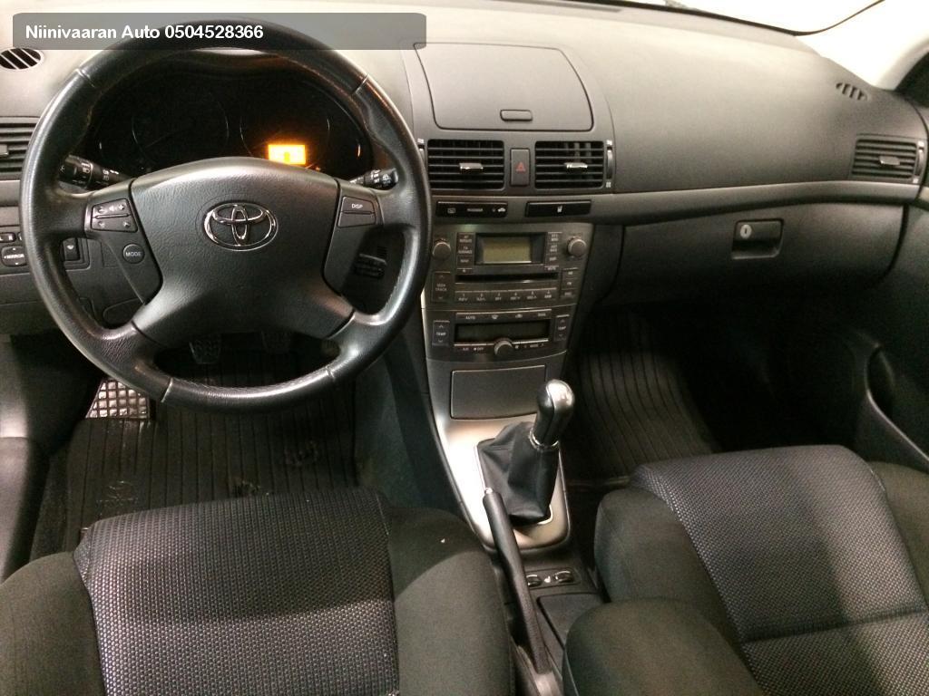 Toyota Avensis Farmari 2.0VVT-i Linea Sol Technical Wagon 2008