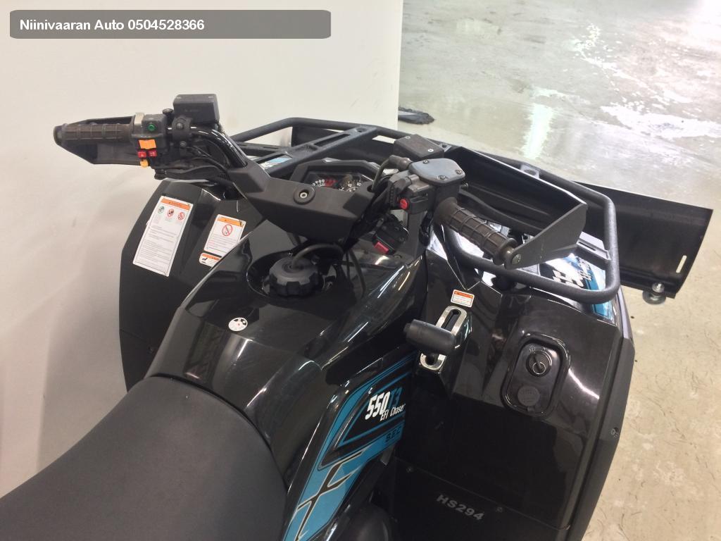 Trapper 550 T3B Traktorimönkijä Chaser 60km/h 2018