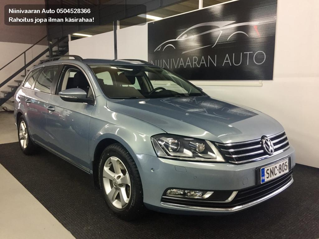 Volkswagen Passat Farmari Variant Comfortline 2.0 TDI 103 BlueMot DSG Webasto kaukosäädöllä 2012