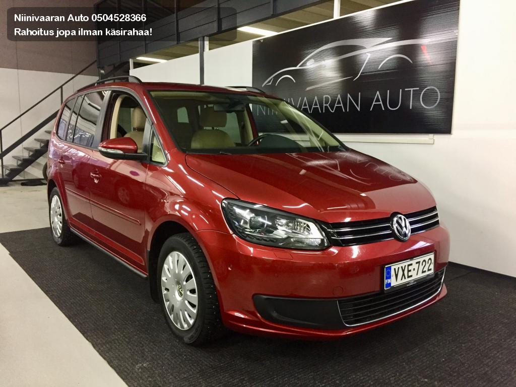 Volkswagen Touran Tila-auto Comfortline 1.4 TSI 140hv DSG (MY14) Bi-Xenon Fragus takuu 12kk/15000tkm 2014