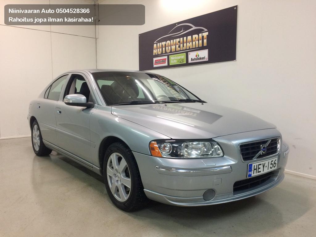 Volvo S60 Sedan 2.4D Momentum Xenonit, Webasto Rahoitus alk. 0€ käsirahalla! Hyvitys vaihtoautosta vähintään 1000€. 2009