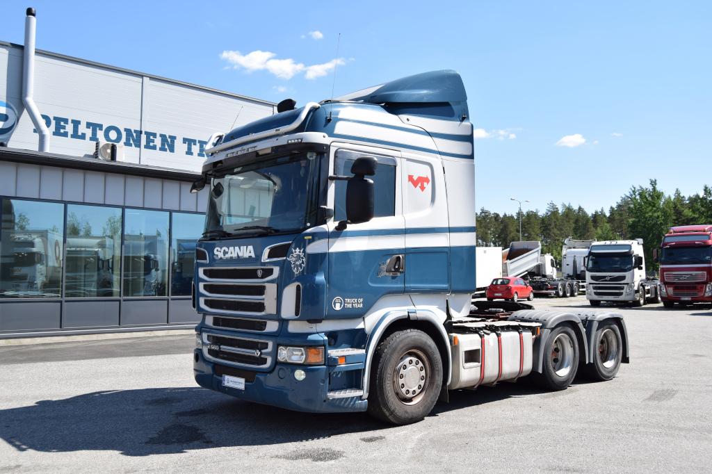 Scania R560 6x4 Hydrauliikka vm. 2011