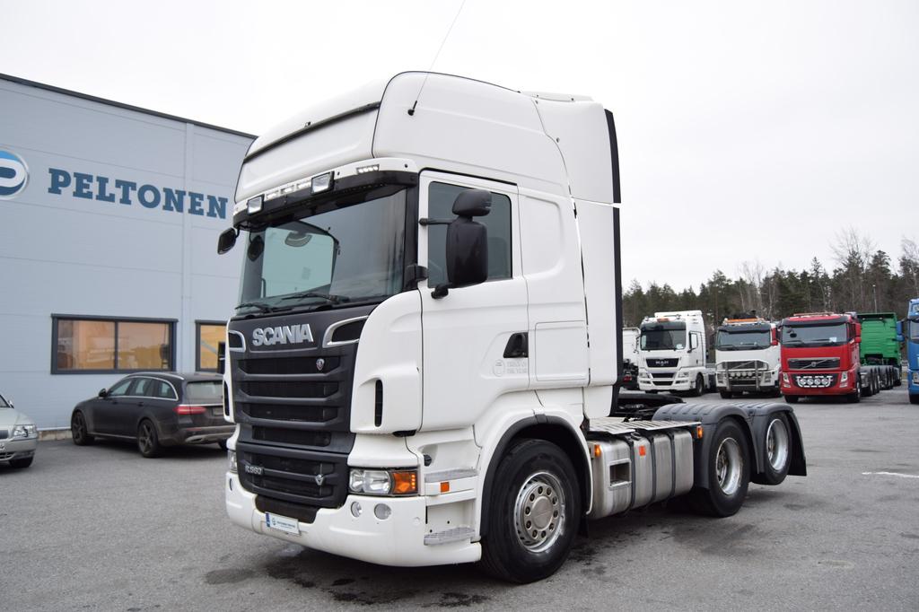 Scania R560 6x2 Siirtopöytä vm. 2010