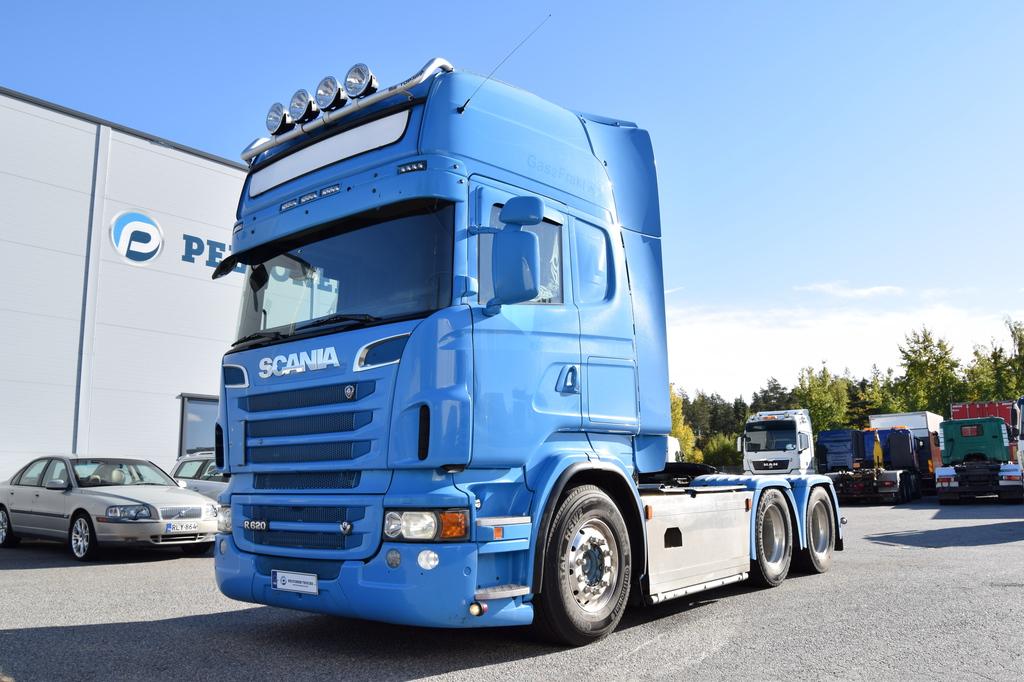 Scania R620 6x4 Siirtopöytä vm. 2011