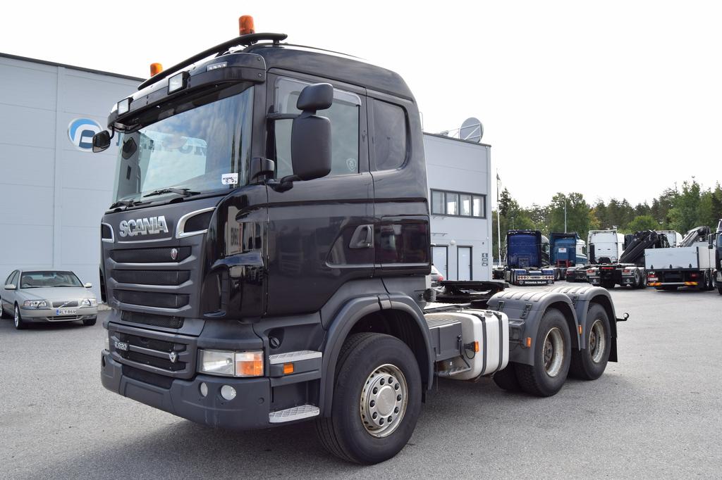 Scania R620 6x4 Hydrauliikka vm. 2012