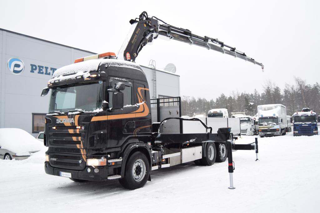 Scania R500 6x2 PM41 nosturi vm. 2007