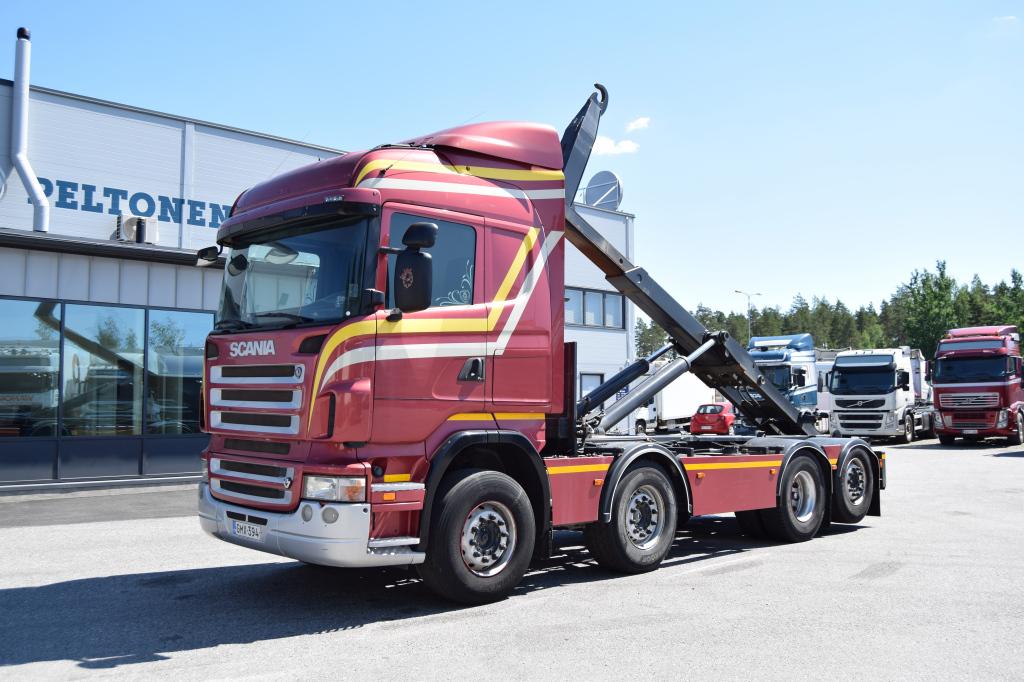 Scania R500 8x2 JOAB Koukkulaite vm. 2008
