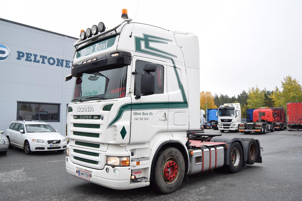 Scania R500 6x2 Siirtopöytä vm. 2007