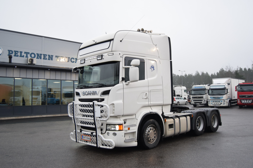 Scania R620 6X4 Siirtopöytä vm. 2012