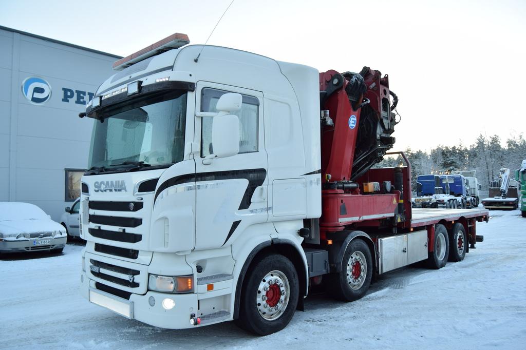 Scania R620 8x2 Effer 1355 Effer 1355 Nosturi vm. 2012