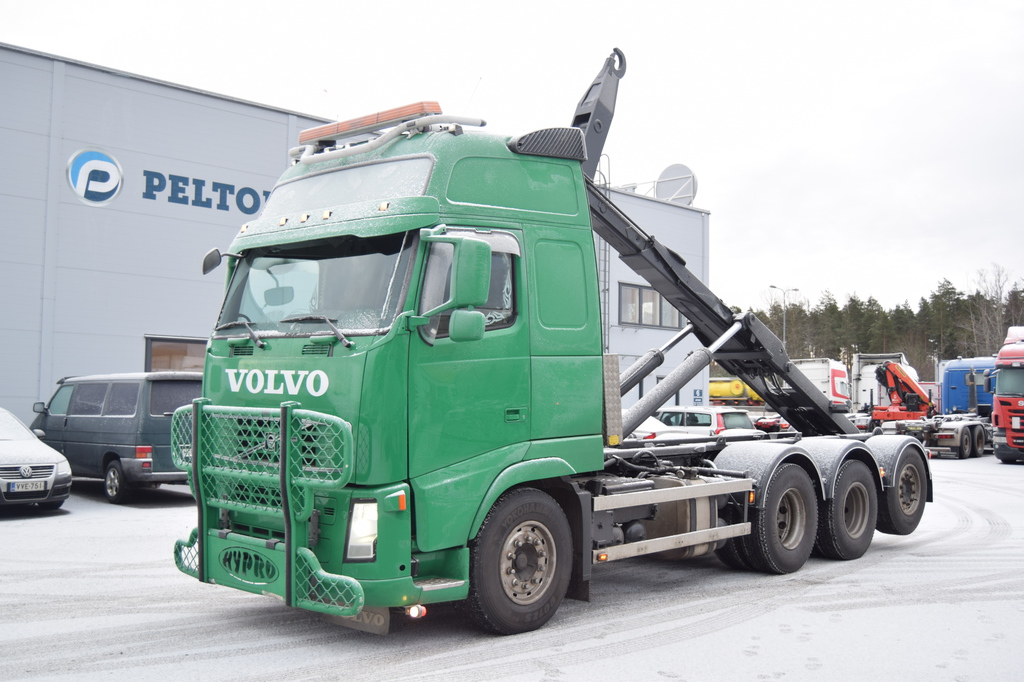Volvo FH520 8x4 Joab 24T Liuku/Koukku vm 2008