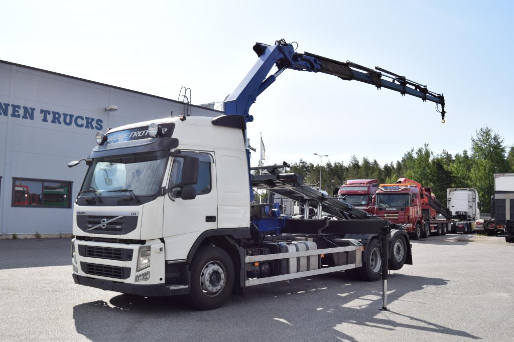 Volvo FM450 6x2 HMF2020 Nosturi & Vaihtolava-laitteet vm 2011