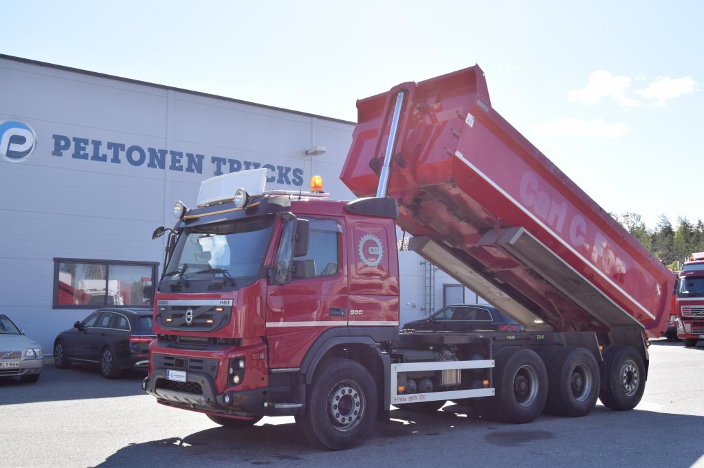 Volvo FMX500 8x4 Soralava vm 2013